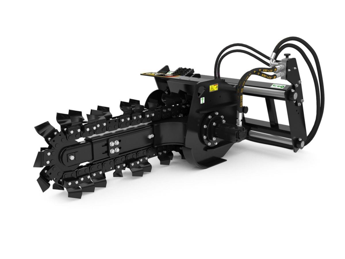 Гидравлический траншеекопатель T6B с гидравлической системой бокового смещения