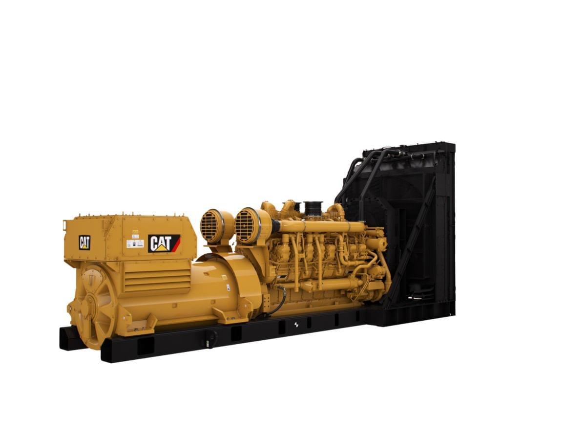 Генераторная установка высокого напряжения 3516E (50 Гц)