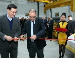 Открытие нового цеха для ремонта компонентов (г. Балыкчи, Кыргызстан)